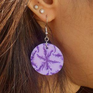boucledoreille-flocon-violet-rond-m1